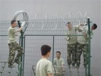 Airport Fence / Prison Fence / Wire Mesh Fence For Security Protection