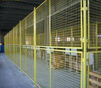 50x100mm,1.8x2.4m galvanized steel welded wire mesh fence
