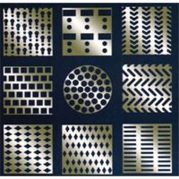 perforated wire mesh of Slotted Hole
