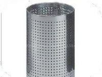 Round stainless steel perforated wire mesh