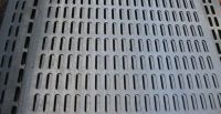 galvanized perforated metal sheet/hexagonal perforated metal sheet/rpll bending round hole meshes