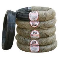 black wire/twisted black annealed binding wire