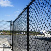 Galvanized Chain Link Fence   garden fence
