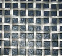 stainless steel crimped wire mesh/mine sieving mesh