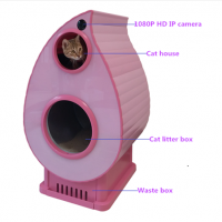 2019 New Stainless Steel Scoopfree Self-Cleaning Luxury Large Automatic Cat Litter Box