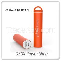 D30X private power sling power bank with REACH, PAHS, CE, ROHS from TUV / SGS