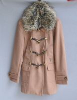 Ladies parka with fur collar