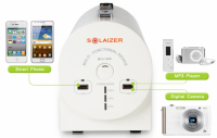 SOLAIZER Multipurpose Portable Solar Home Generation Power System