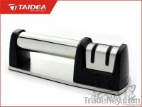 knife sharpener with diamond and ceramic wheels(T1007DC)