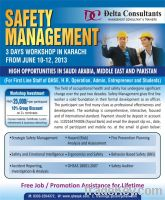 "Training on ""Safety Management"""