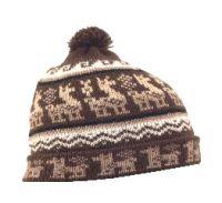 Alpaca Knit Beanie Hat