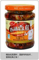 Shiitake in chili oil