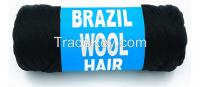 brazilian hair wool yarn