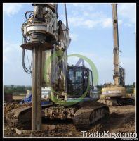 used soilmec rotary drilling rig