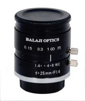 25 mm mega pixel machine vision lens--balaji optics india