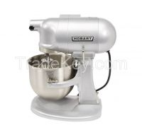 Hobart N50 Commercial Mixer, Gear-Driven, 3-Speed, 5 Quart, Gray