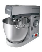 Commercial Stand Mixer, Silver