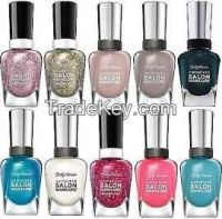 Lot Of 10 Sally Hansen Salon Manicure Finger Nail Polish Color