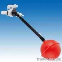 Bathroom accessory: side in ball cock fill valve