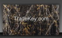 Black and Gold Marble