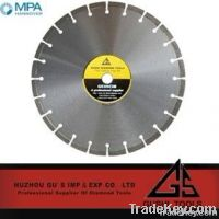 Silver Brazed Diamond Saw Blade For Marble-HSWM
