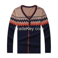 Men's knitwear Sweater V Collar Cardigan Men's Cardigan