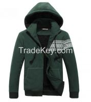 Hot Sale Fleece Embroidery Hoody Jackets