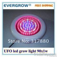 90W Led Grow Light With CE & Rohs UFO 90