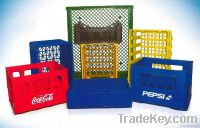 Plastic Crates for Food & Dairy
