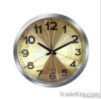 Whoesale  Matal Wall Clock Analog
