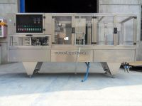 automatic cup filling and sealing machine with windows