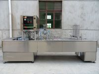 paper cup auto filling and sealing machine