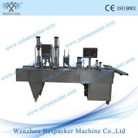 1L bucket automatic sauces cup filling sealing machine