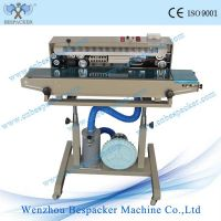 DBF-1000G Gas inflation continuous sealing machine