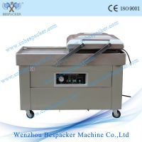 DZ-500/2SB factory price double chamber vacuum packing machine for meat food