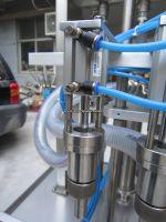 4 Heads automatic paste liquid fill machine honey filling machine