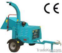 Diesel mobile wood chipper shredder for sale