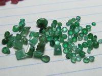 Loose Rough Emeralds