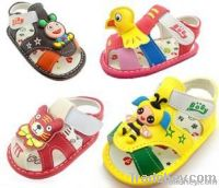 Cartoon fashion, children's shoes, baby shoes