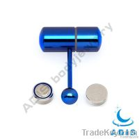 anodized vibrating barbell tongue