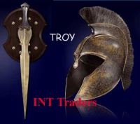 Troy Movies Sword, Helmet and Shield