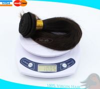 100% Unprocessed Brazilian Virgin Hair  Extension Silky Straight hair style can be dyed any color