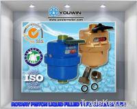 R160 Volumetric Rotary Piston Plastic Water Meter