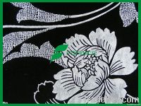 flocked sofa cover fabric