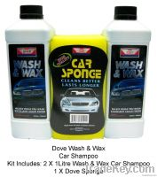 Dove Wash & Wax Car Shampoo