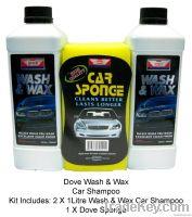 Dove Wash & Wax Car Shampoo