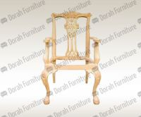 Unfinished Wooden Dining Chairs