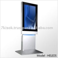 Floor standing digital signage (DID) kiosk