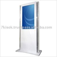 Free standing digitla display