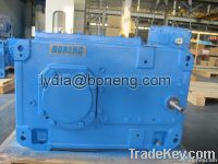 industrial parallel shaft helical gearboxe gear reducer